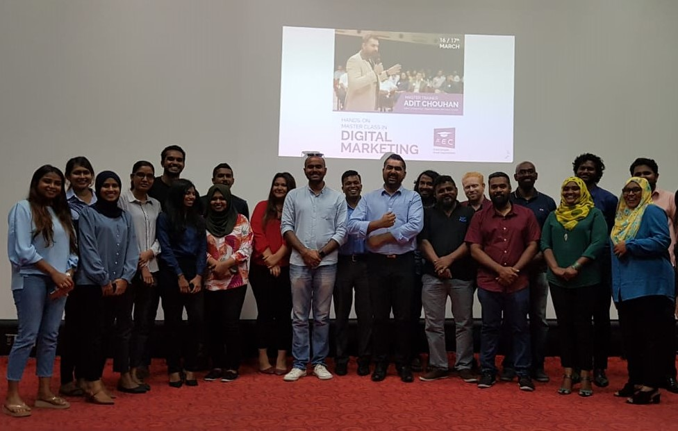 Digital Marketing MasterClass in Maldives
